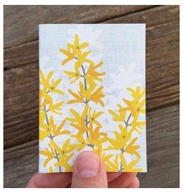 Modern Printed Matter Forsythia Enclosure Card