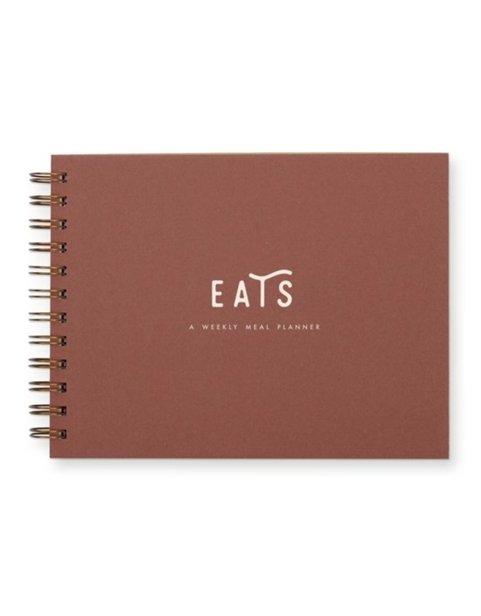 Ruff House Print Shop Simple Meal Planner - Terracotta