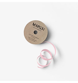 March Party Goods Cotton Ribbon - Pink