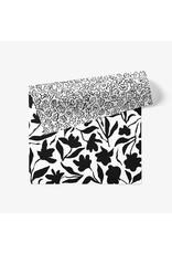March Party Goods Fleur B&W Gift Wrap Sheet