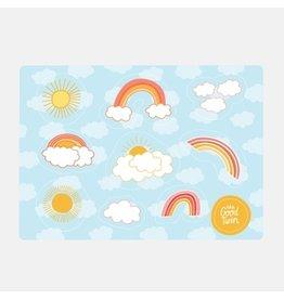 Rainbow Sticker Sheet