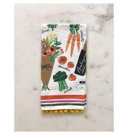 Farmers Market Tea Towel