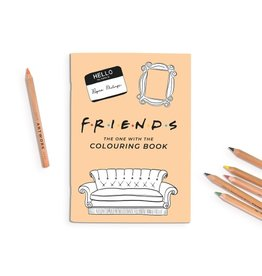 Friends Coloring Book