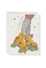 Roller Skate Card
