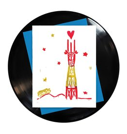 Foreignspell I Left My Heart in San Francisco Sutro Tower Card
