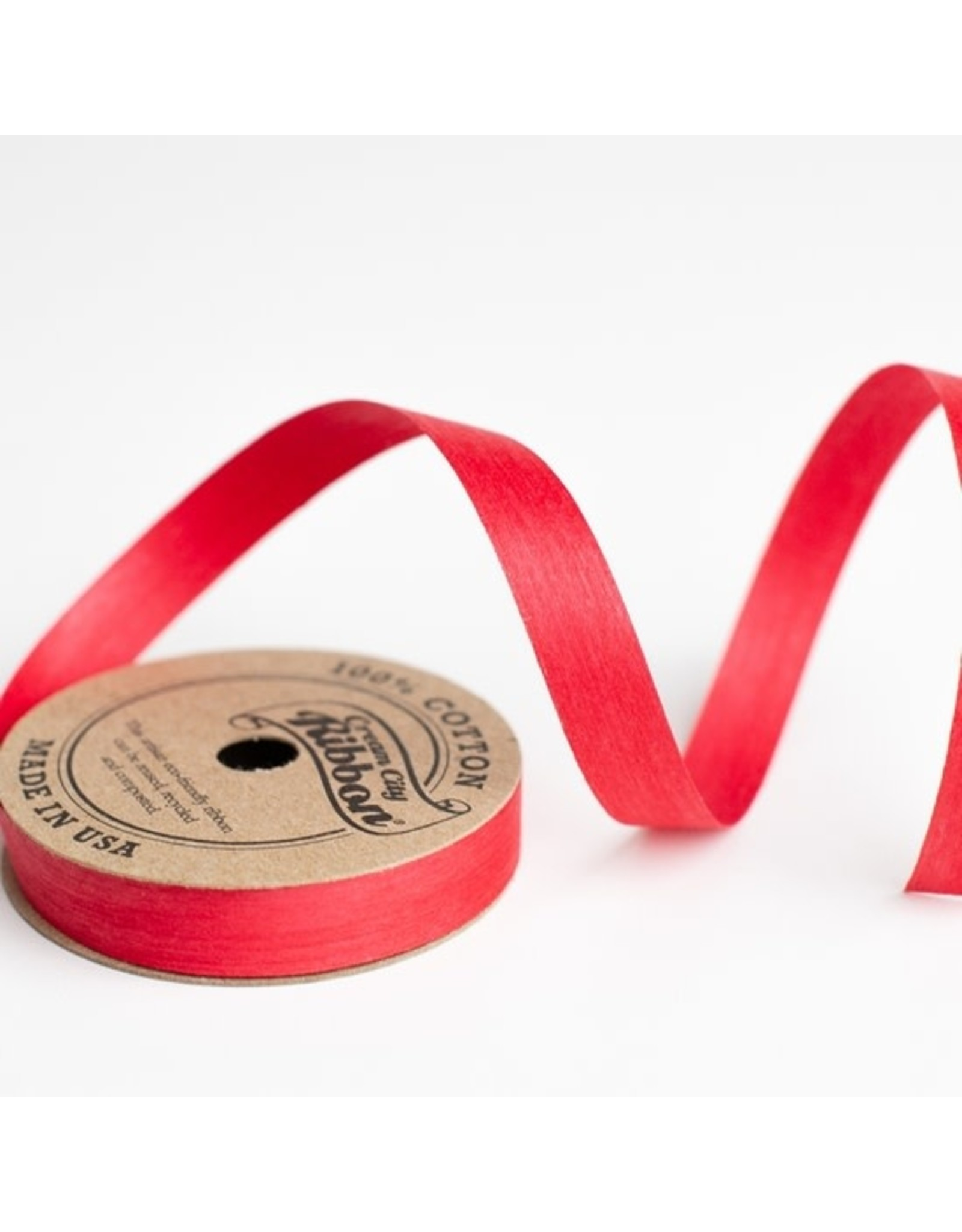 Wrappily Eco Gift Wrap Ribbon - Red