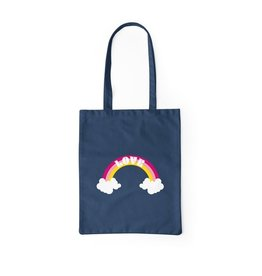 Love Navy Cotton Tote