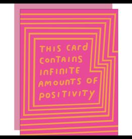 Egg Press Infinite Positivity Card
