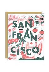 Egg Press Hello from SF Card