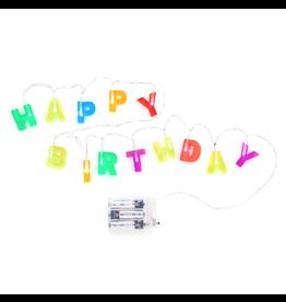 Kikkerland Happy Birthday Lights