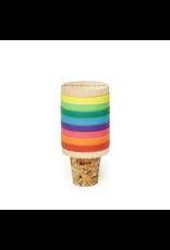 Kikkerland Rainbow Wine Markers