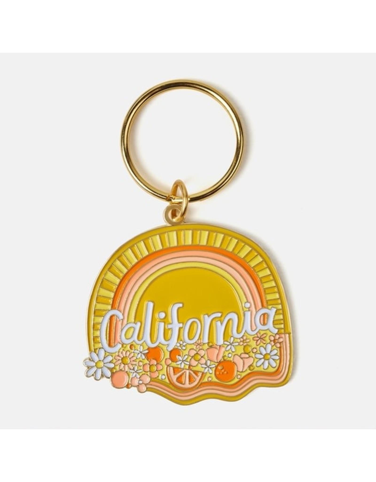 California Keychain