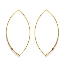 Japanese Marquise Threaders - Champagne