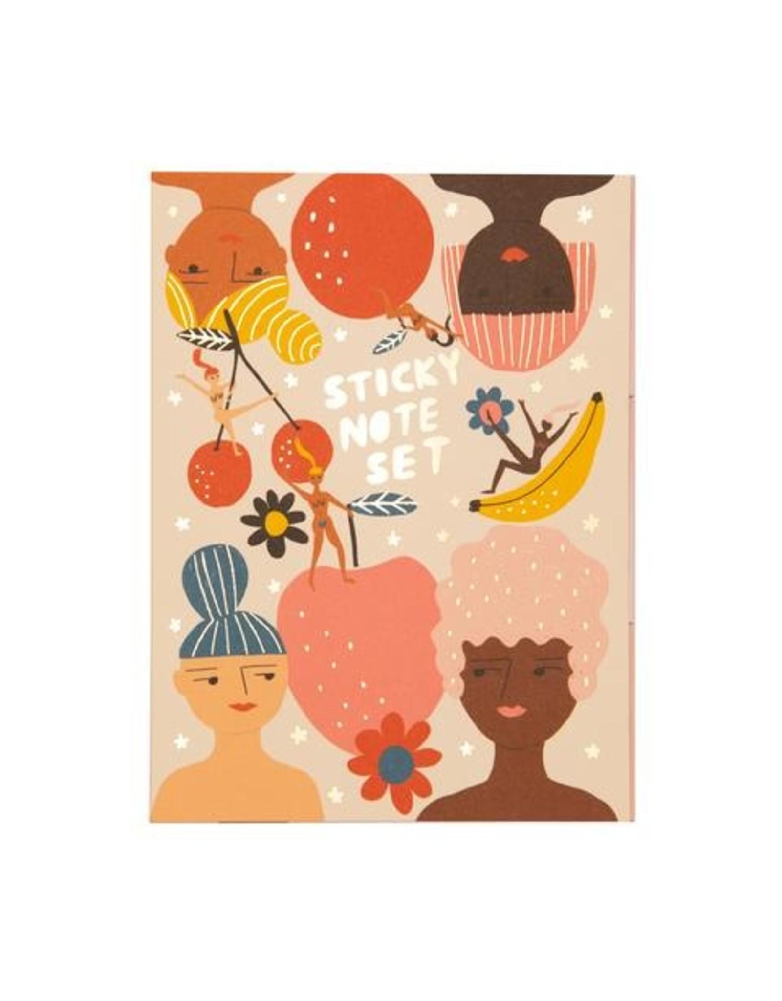 Carolyn Suzuki Fruity Femmes Sticky Notes