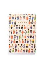 Carolyn Suzuki Friends A5 Notebook