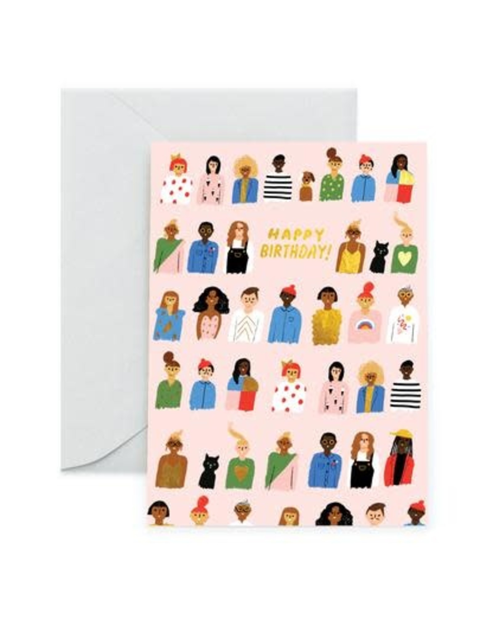 Carolyn Suzuki Friends are Family Card