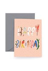 Carolyn Suzuki Spell It Out Card