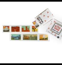 Bobo Design Studio National Park Luv Postage Stamp Washi Tape