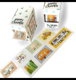Bobo Design Studio Happy Camper Postage Stamp Washi Tape