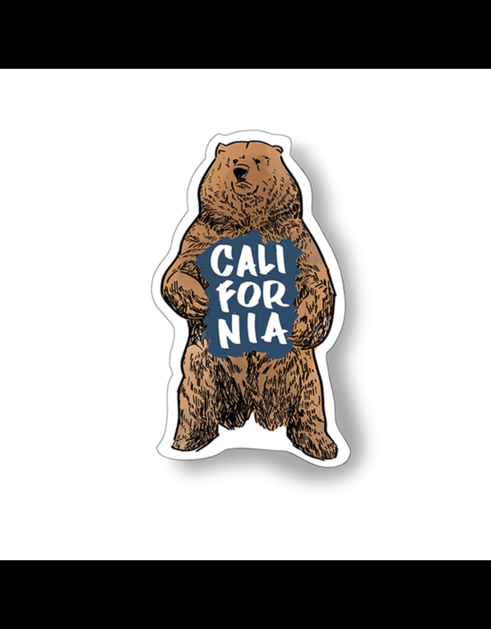 Bobo Design Studio California Bear Sticker
