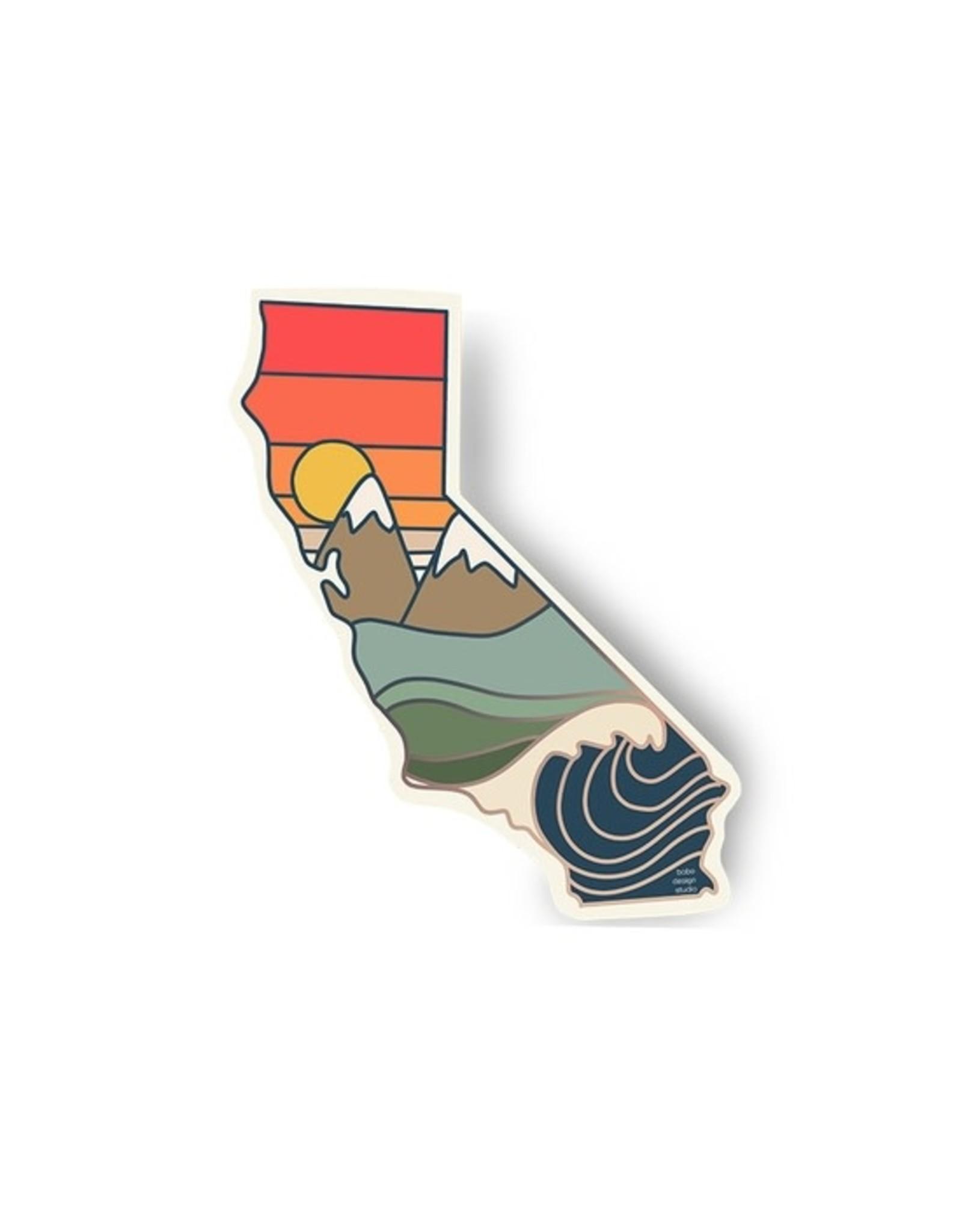 Bobo Design Studio Seasonal Golden State Sticker