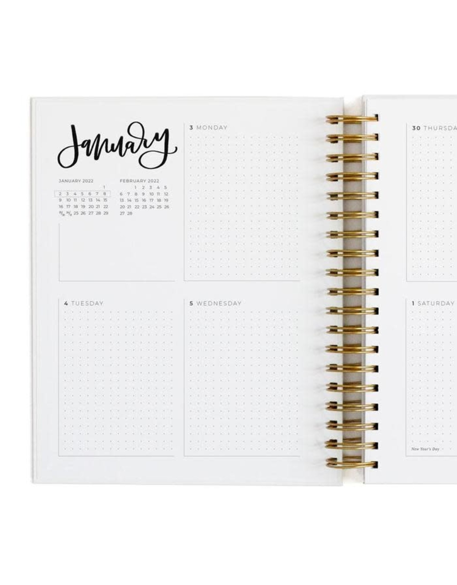 Greenwood Planner Calendar