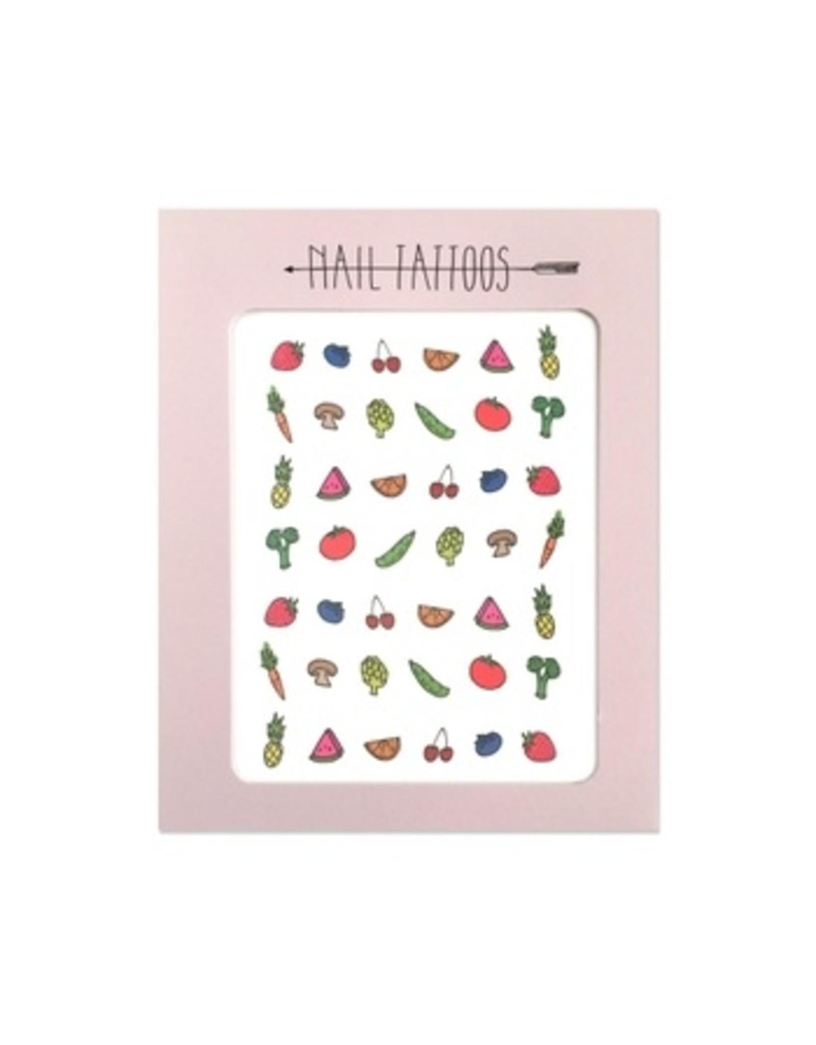 Hartland Brooklyn Fruits & Veggies Nail Tattoos