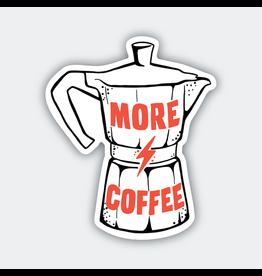 Pike Street Press More Coffee Sticker