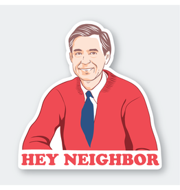 Pike Street Press Hey Neighbor Sticker