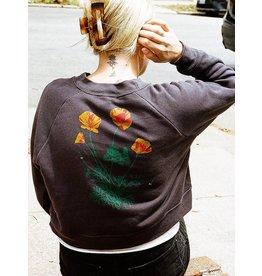 Culk Poppy Cropped Sweatshirt