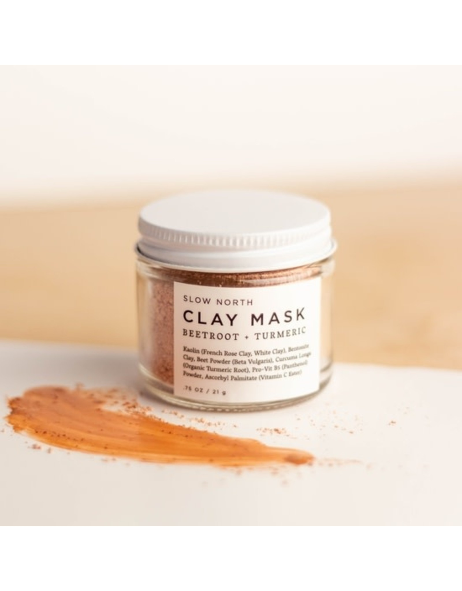 Beetroot + Tumeric Clay Mask