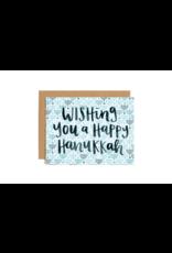 Hanukkah Wishes Card