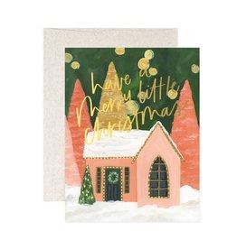 Little Christmas House Card