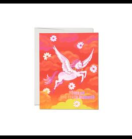 Shine On Pegasus Card