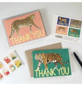 Yeppie Paper Big Cat Thank You - Variety Box Set