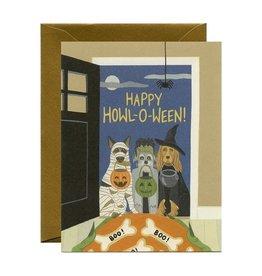 Yeppie Paper Howl-O-Ween Card