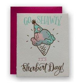 Ladyfingers Letterpress Sherbert Day Card