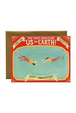Yeppie Paper Trapeze Artists Card
