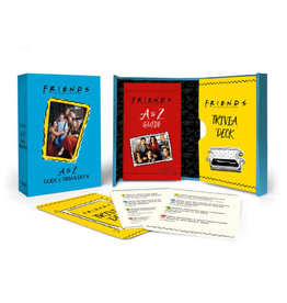Hachette Friends: A to Z Guide and Trivia Deck