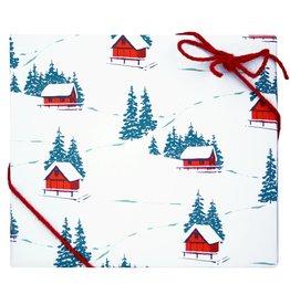 Hillside Cabins Gift Wrap