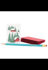 Hillside Cabins Holiday Enclosure Card