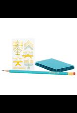Menorahs Hanukkah Enclosure Card
