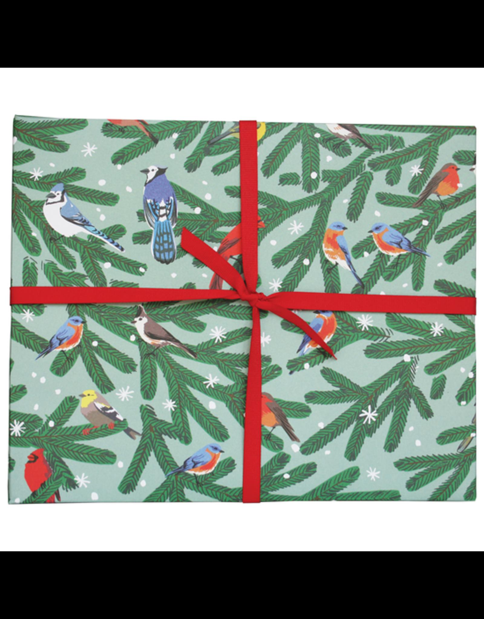 Winter Songbirds Gift Wrap