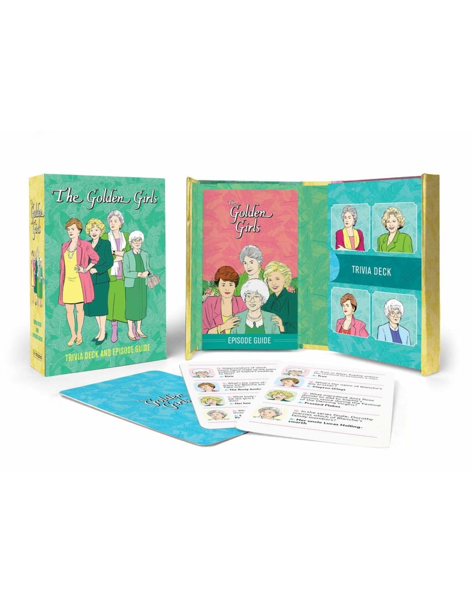 Hachette Golden Girls: Trivia Deck and Episode Guide