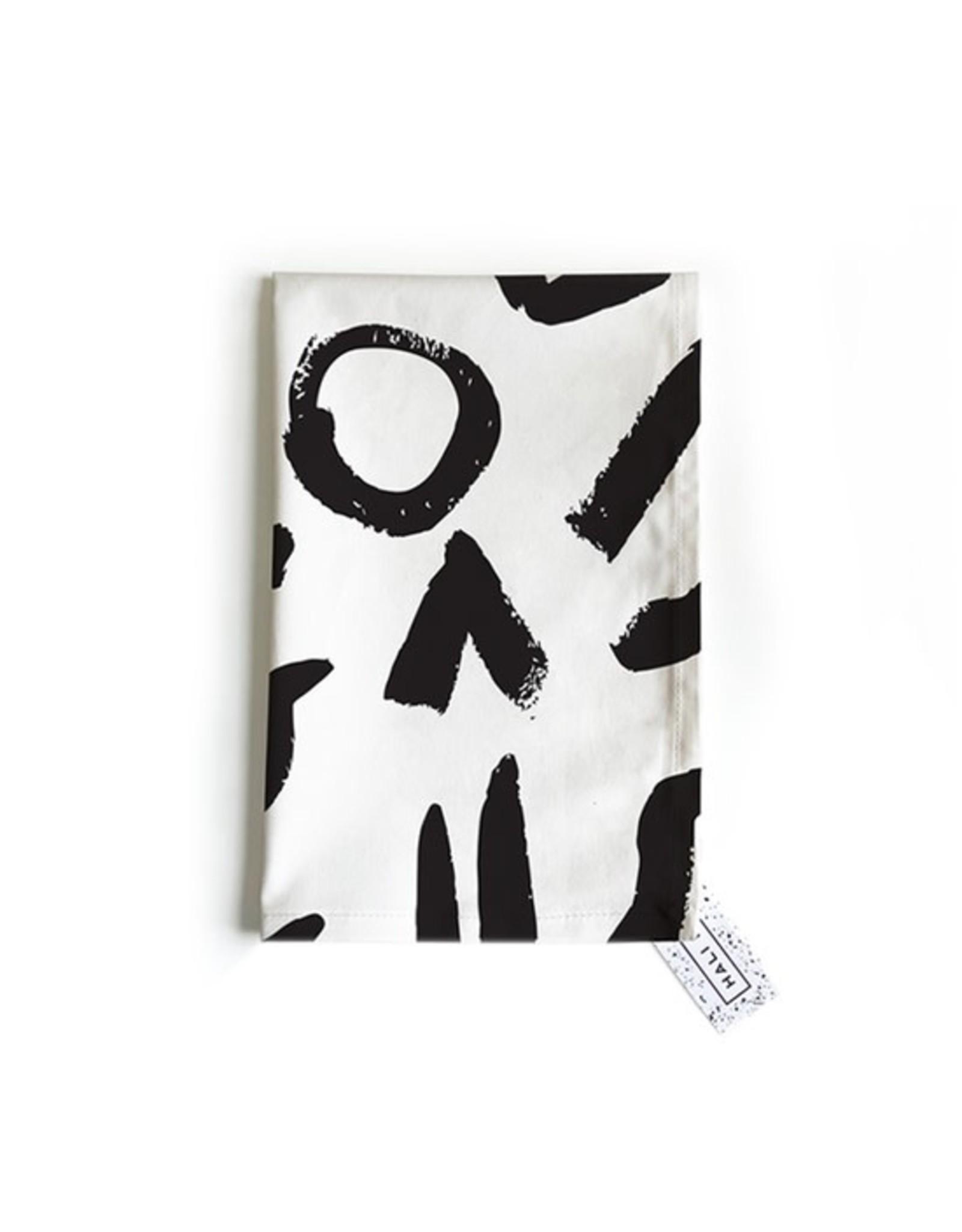 Hali Hali Tea Towel - Express Yourself