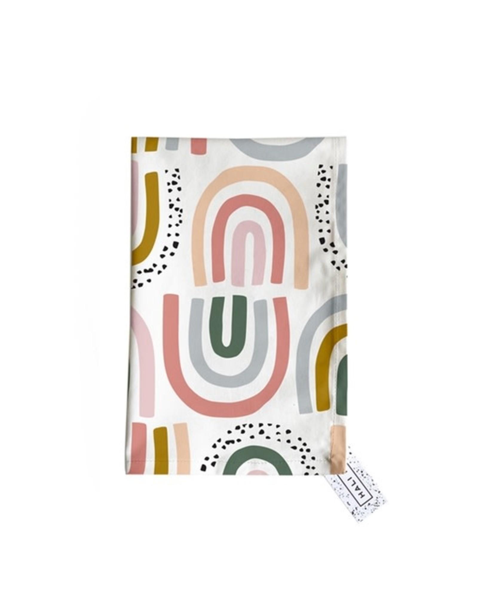 Hali Hali Tea Towel - Rainbows & Sprinkles