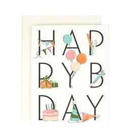 Amy Heitman Happy Bday Card