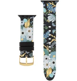 Rifle Paper Apple Watch Garden Party Blue Band