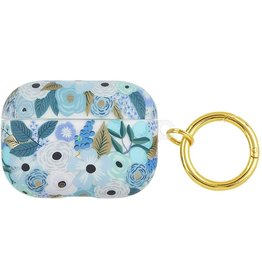 Rifle Paper Clear Garden Party Blue AirPod Pro Case