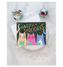 Kitty Carols Card